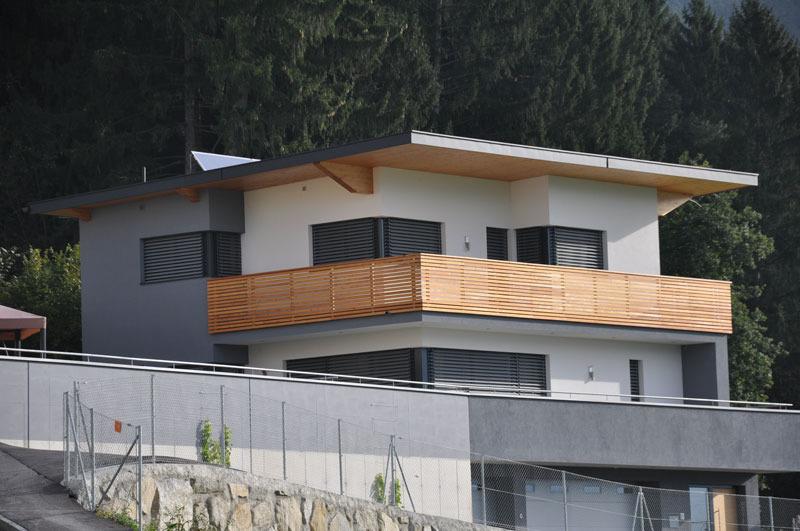 balkon modern holz. Black Bedroom Furniture Sets. Home Design Ideas